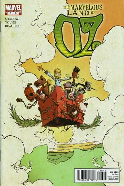 Marvelous Land of Oz #6 comic books - cover scans photos Marvelous Land of Oz #6 comic books - covers, picture gallery