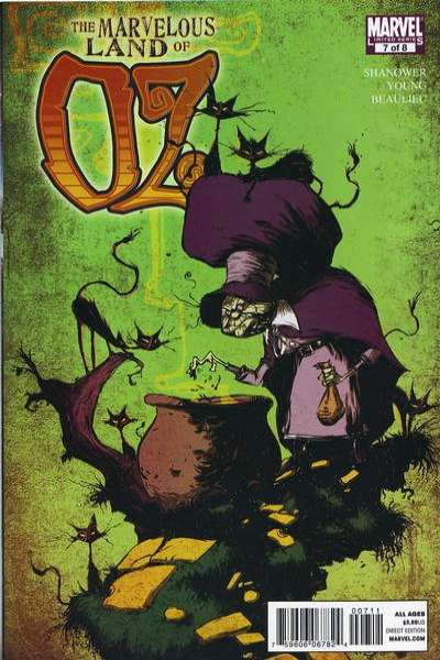 Marvelous Land of Oz #7 comic books - cover scans photos Marvelous Land of Oz #7 comic books - covers, picture gallery