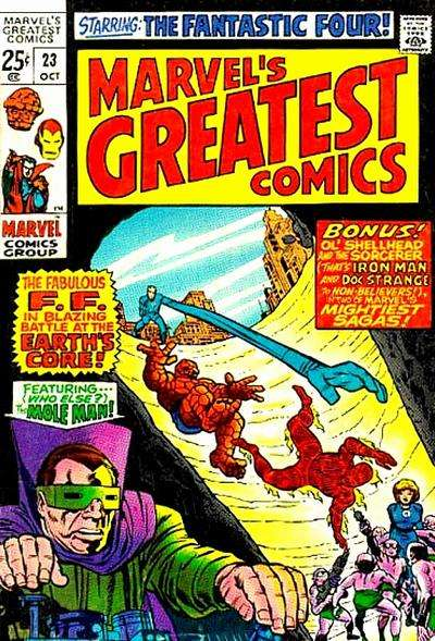 Marvel's Greatest Comics Comic Books. Marvel's Greatest Comics Comics.