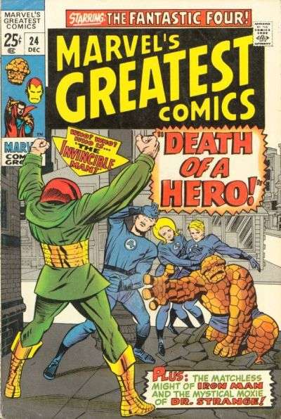 Marvel's Greatest Comics #24 Comic Books - Covers, Scans, Photos  in Marvel's Greatest Comics Comic Books - Covers, Scans, Gallery