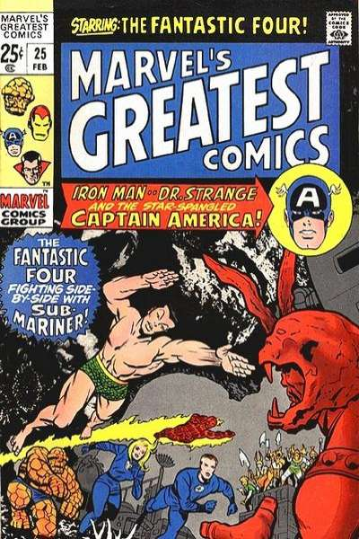 Marvel's Greatest Comics #25 comic books for sale