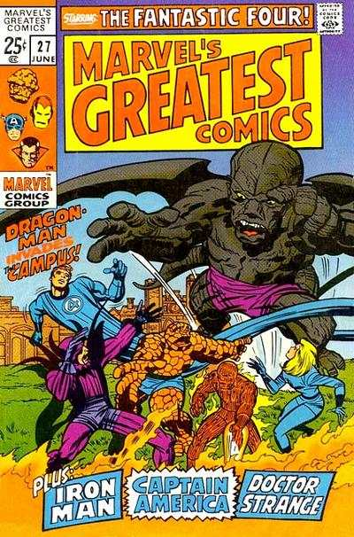 Marvel's Greatest Comics #27 comic books for sale