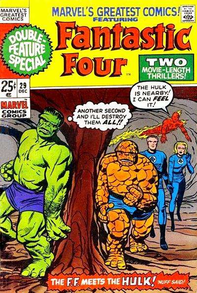 Marvel's Greatest Comics #29 comic books for sale