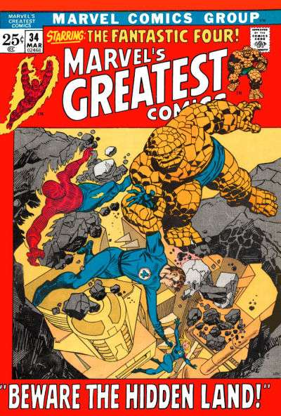 Marvel's Greatest Comics #34 comic books for sale