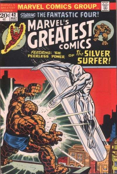 Marvel's Greatest Comics #42 comic books for sale