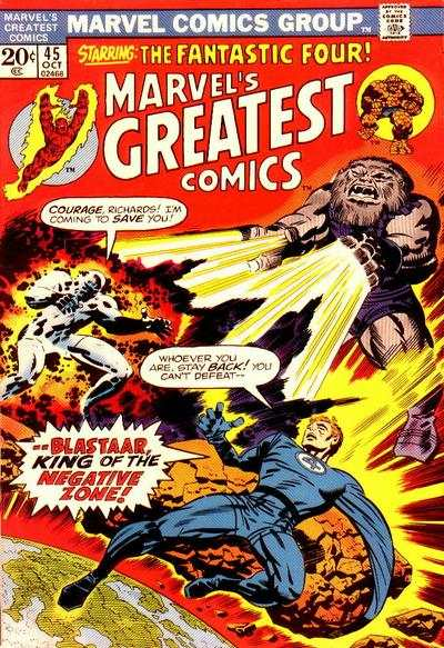 Marvel's Greatest Comics #45 comic books for sale