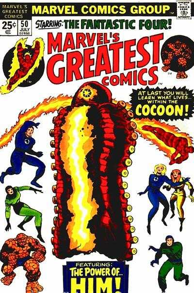 Marvel's Greatest Comics #50 Comic Books - Covers, Scans, Photos  in Marvel's Greatest Comics Comic Books - Covers, Scans, Gallery