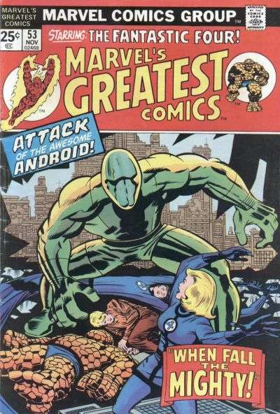 Marvel's Greatest Comics #53 comic books for sale
