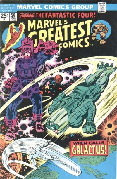 Marvel's Greatest Comics #56 comic books - cover scans photos Marvel's Greatest Comics #56 comic books - covers, picture gallery