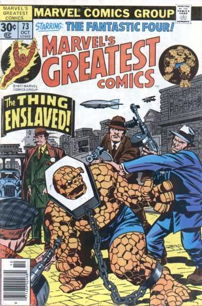 Marvel's Greatest Comics #73 comic books - cover scans photos Marvel's Greatest Comics #73 comic books - covers, picture gallery
