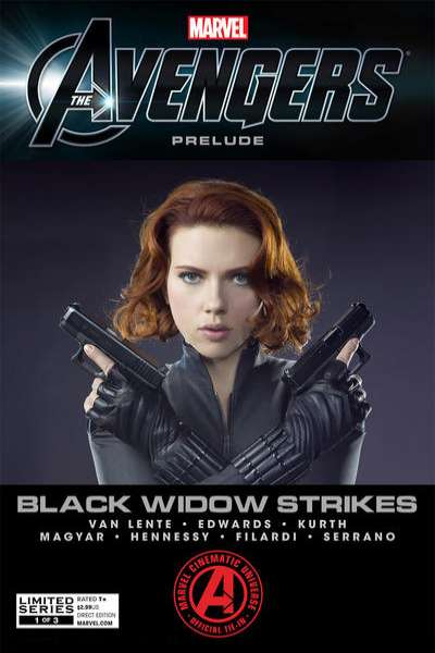 Marvel's The Avengers: Black Widow Strikes Comic Books. Marvel's The Avengers: Black Widow Strikes Comics.