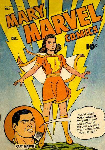 Mary Marvel comic books