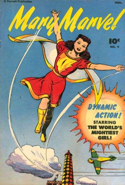 Mary Marvel #9 comic books - cover scans photos Mary Marvel #9 comic books - covers, picture gallery