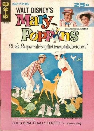 Mary Poppins Comic Books. Mary Poppins Comics.