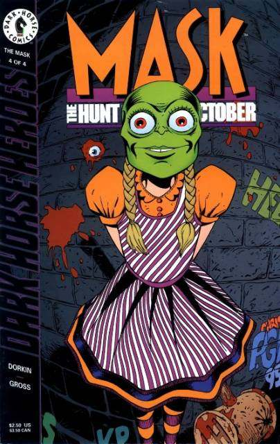Mask: Hunt for Green October #4 comic books for sale