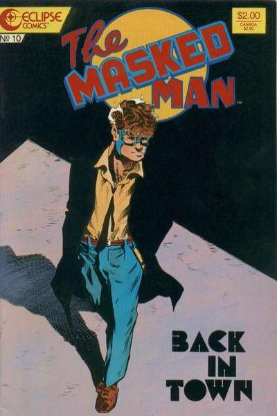 Masked Man #10 Comic Books - Covers, Scans, Photos  in Masked Man Comic Books - Covers, Scans, Gallery