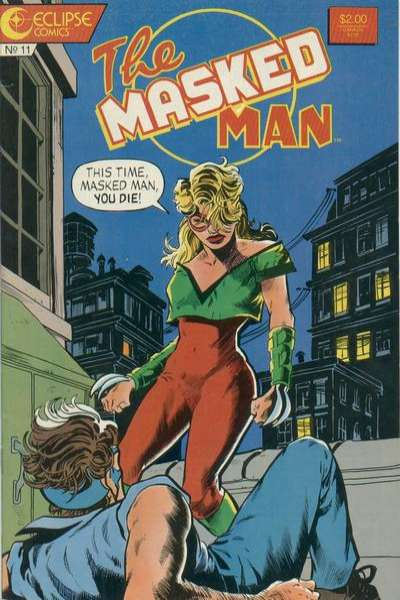 Masked Man #11 Comic Books - Covers, Scans, Photos  in Masked Man Comic Books - Covers, Scans, Gallery