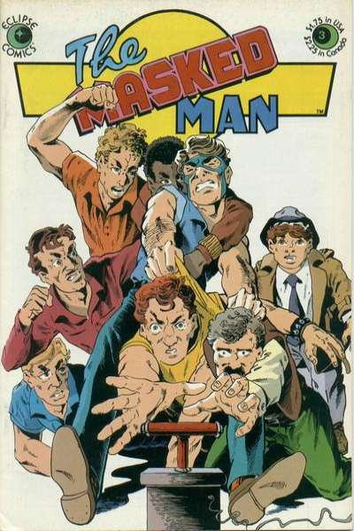 Masked Man #3 Comic Books - Covers, Scans, Photos  in Masked Man Comic Books - Covers, Scans, Gallery