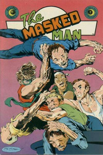 Masked Man #7 Comic Books - Covers, Scans, Photos  in Masked Man Comic Books - Covers, Scans, Gallery