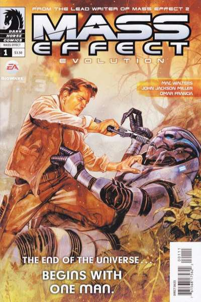 Mass Effect: Evolution comic books