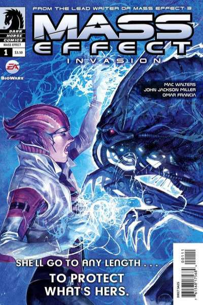 Mass Effect: Invasion #1 Comic Books - Covers, Scans, Photos  in Mass Effect: Invasion Comic Books - Covers, Scans, Gallery