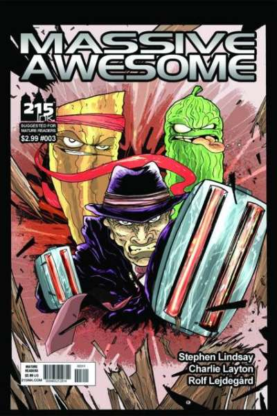 Massive Awesome #3 comic books for sale