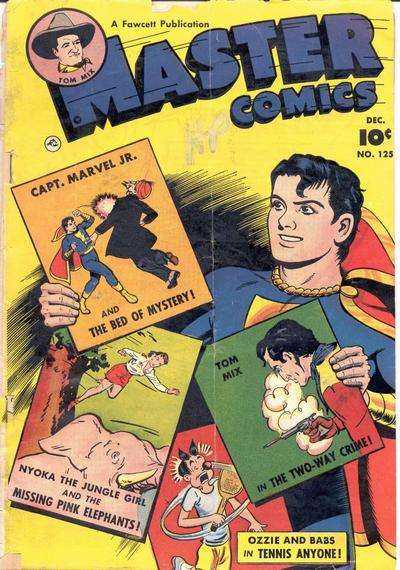 Master Comics #125 comic books for sale