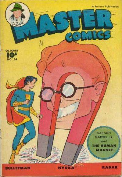 Master Comics #84 comic books for sale
