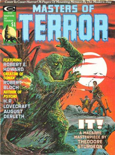 Masters of Terror comic books