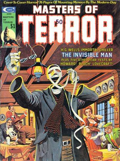 Masters of Terror #2 comic books - cover scans photos Masters of Terror #2 comic books - covers, picture gallery