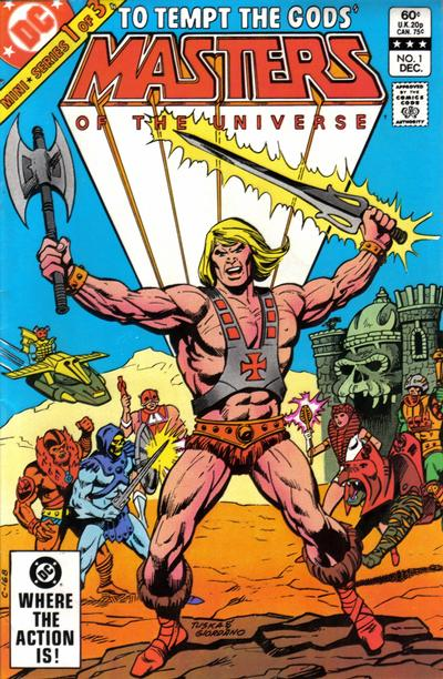 Masters of the Universe Comic Books. Masters of the Universe Comics.
