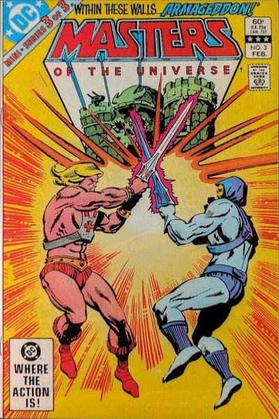 Masters of the Universe #3 comic books - cover scans photos Masters of the Universe #3 comic books - covers, picture gallery