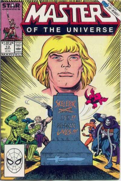 Masters of the Universe #13 Comic Books - Covers, Scans, Photos  in Masters of the Universe Comic Books - Covers, Scans, Gallery