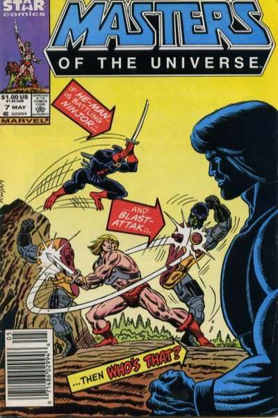 Masters of the Universe #7 comic books for sale