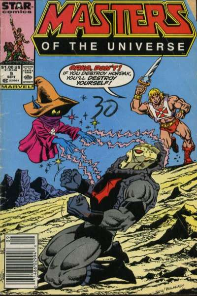 Masters of the Universe #9 Comic Books - Covers, Scans, Photos  in Masters of the Universe Comic Books - Covers, Scans, Gallery