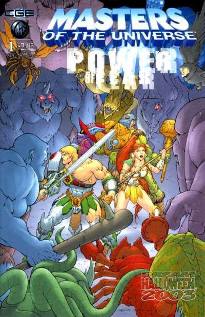 Masters of the Universe #1 comic books for sale