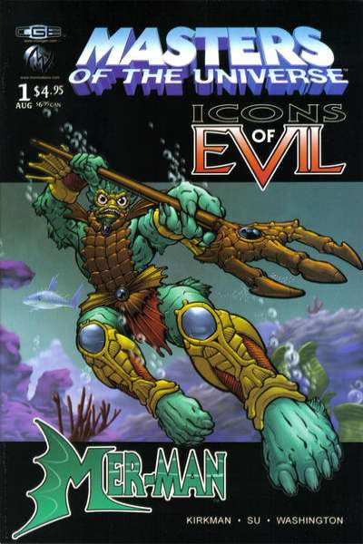 Masters of the Universe: Icons of Evil: Mer-Man #1 comic books for sale