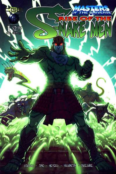 Masters of the Universe: Rise of the Snake Men comic books