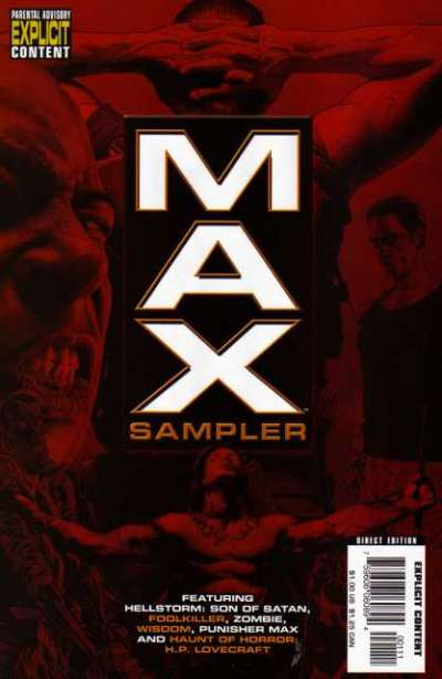 Max Sampler Comic Books. Max Sampler Comics.