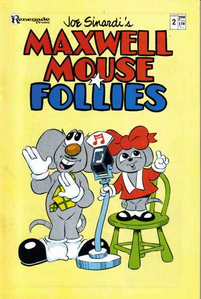 Maxwell Mouse Follies #2 comic books - cover scans photos Maxwell Mouse Follies #2 comic books - covers, picture gallery