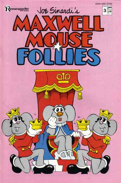 Maxwell Mouse Follies #3 comic books - cover scans photos Maxwell Mouse Follies #3 comic books - covers, picture gallery