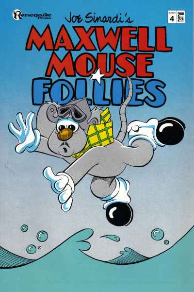 Maxwell Mouse Follies #4 comic books - cover scans photos Maxwell Mouse Follies #4 comic books - covers, picture gallery