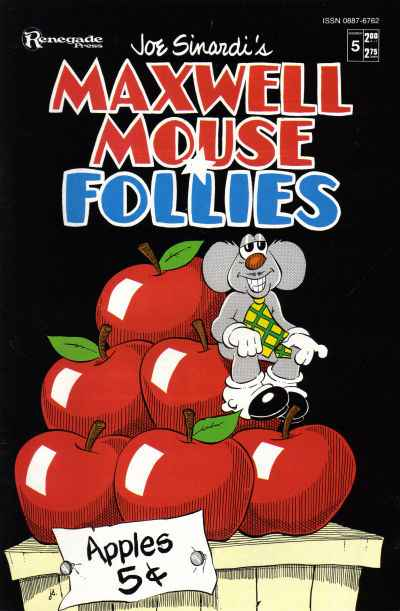 Maxwell Mouse Follies #5 Comic Books - Covers, Scans, Photos  in Maxwell Mouse Follies Comic Books - Covers, Scans, Gallery