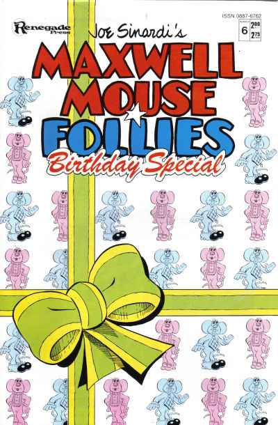 Maxwell Mouse Follies #6 comic books - cover scans photos Maxwell Mouse Follies #6 comic books - covers, picture gallery