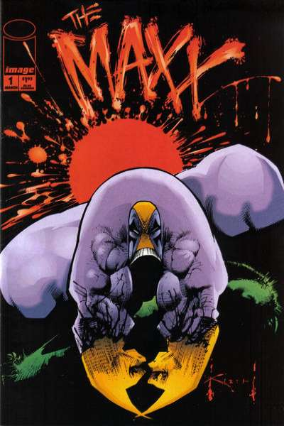 Maxx Comic Books. Maxx Comics.