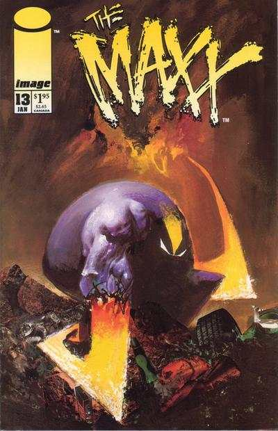 Maxx #13 Comic Books - Covers, Scans, Photos  in Maxx Comic Books - Covers, Scans, Gallery