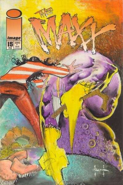 Maxx #15 Comic Books - Covers, Scans, Photos  in Maxx Comic Books - Covers, Scans, Gallery