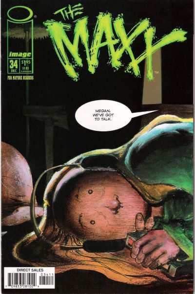 Maxx #34 Comic Books - Covers, Scans, Photos  in Maxx Comic Books - Covers, Scans, Gallery