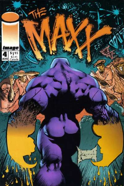 Maxx #4 Comic Books - Covers, Scans, Photos  in Maxx Comic Books - Covers, Scans, Gallery