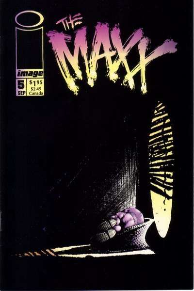 Maxx #5 comic books for sale